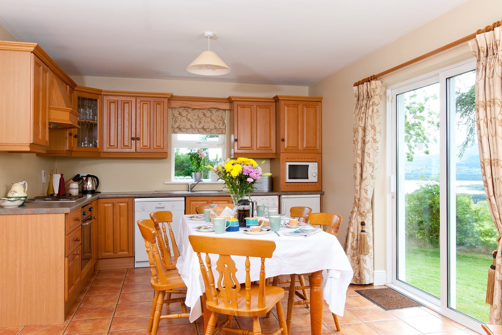 Kitchen at self catering cottage