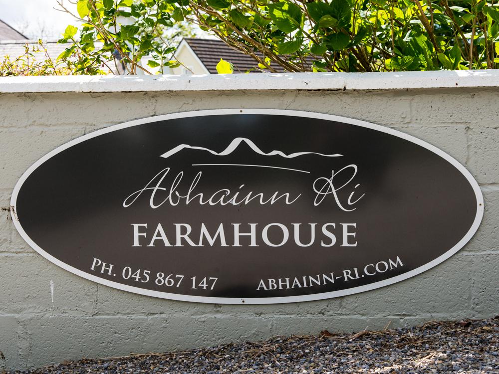 A Winter's Morning at Abhainn Ri Farm
