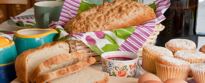 Freshly baked bread Abhainn Ri Farmhouse Foods