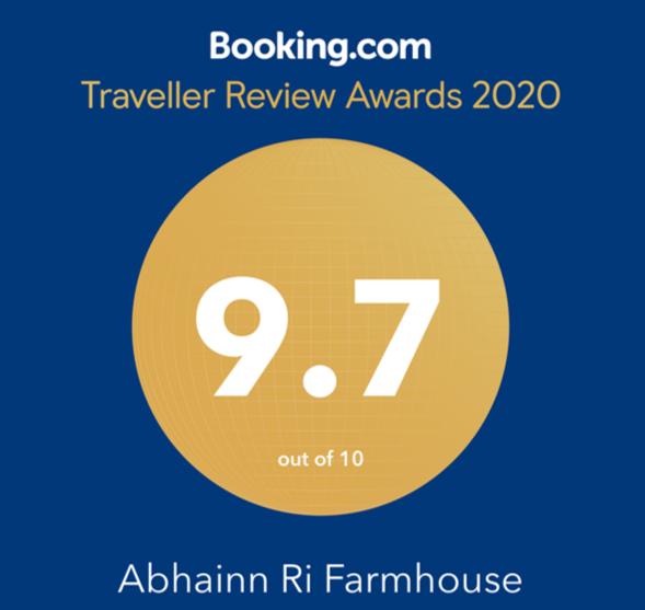 Abhainn Ri Booking.com Award