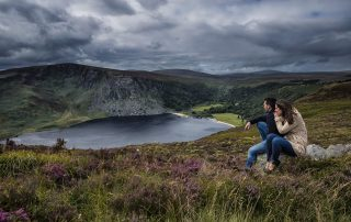 Car Touring Lough Tay