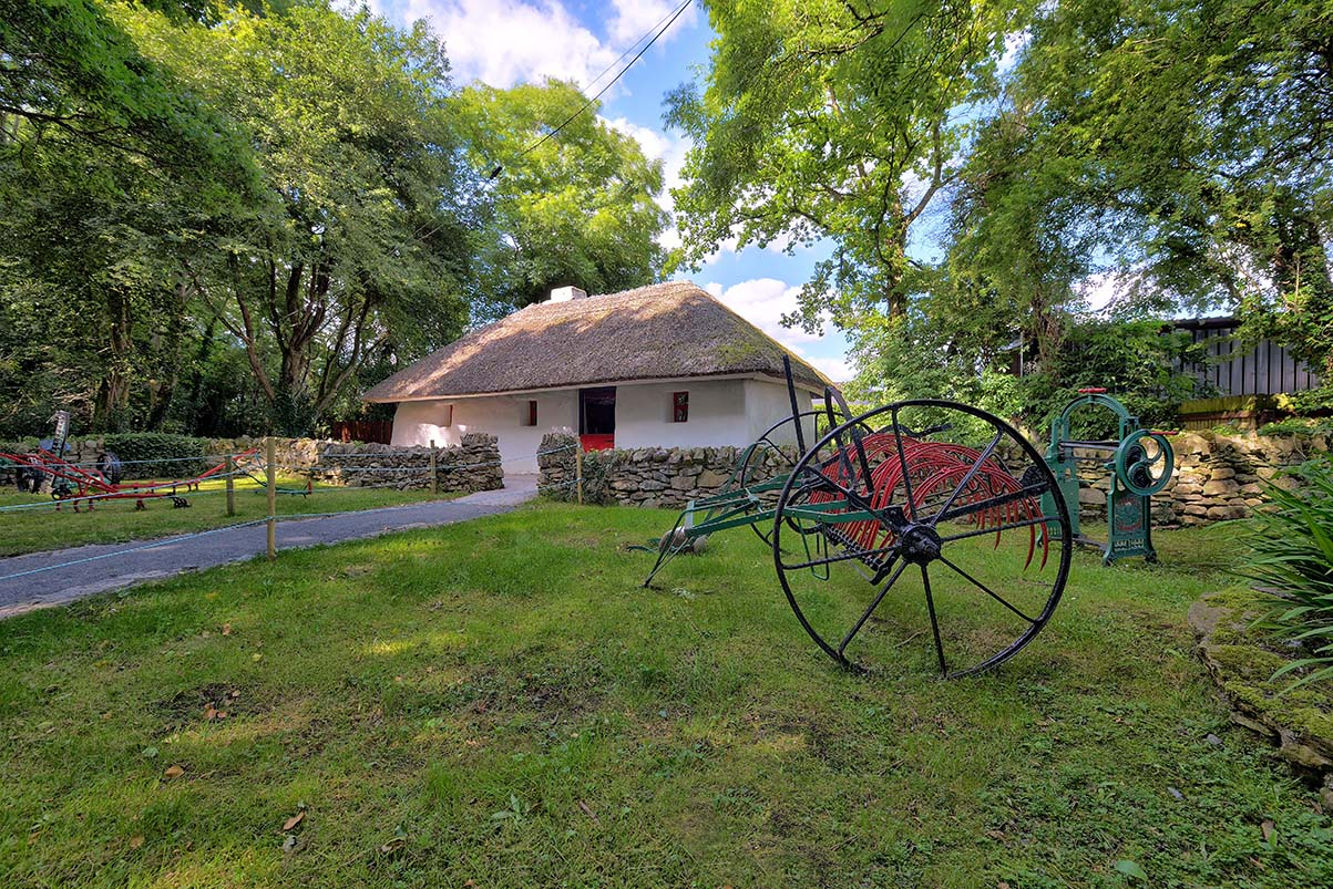 Cottage, Lullymore Heritage and Discovery Park, Co Kildare_master
