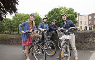 Tourist Attraction Bike Riding Around Dublin City