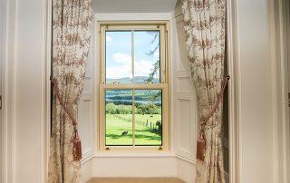 Abhainn Ri B&B Window Overlooking Blessington Lakes