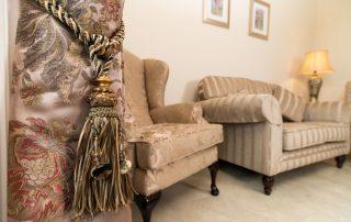 Living room area of B&B