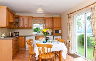 Dining room of Self Catering Family Friendly Farm Cottages